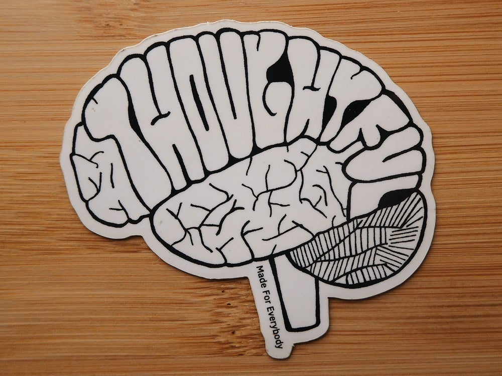 Image of Thoughtful (B + W)