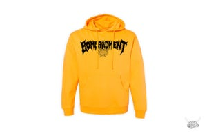 "Image of Bombardment Hoodie ""Gold"""