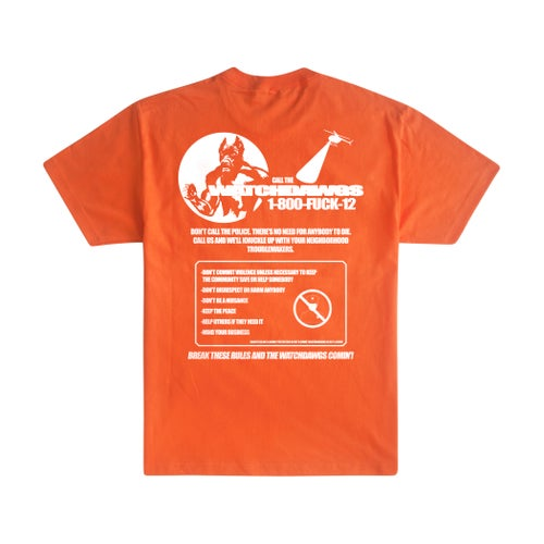 Image of Watchdawgs Tee (Orange)