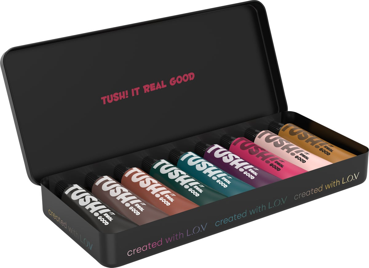 Image of TUSH IT REAL GOOD PALETTE created with L.O.V