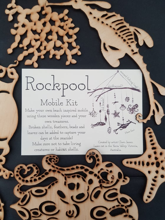 Image of Rockpool Mobile Kit of 8.