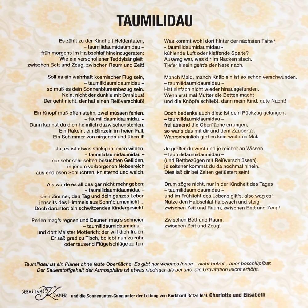 Image of Vinyl Single - Taumilidau LIMITED!