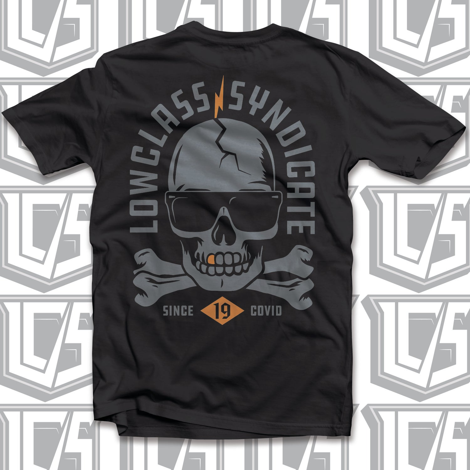 Image of LOWCLASS SYNDICATE Skull tee