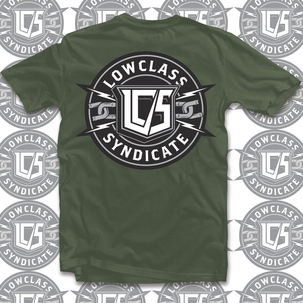 Image of LOWERCLASS SYNDICATE LOGO TEE