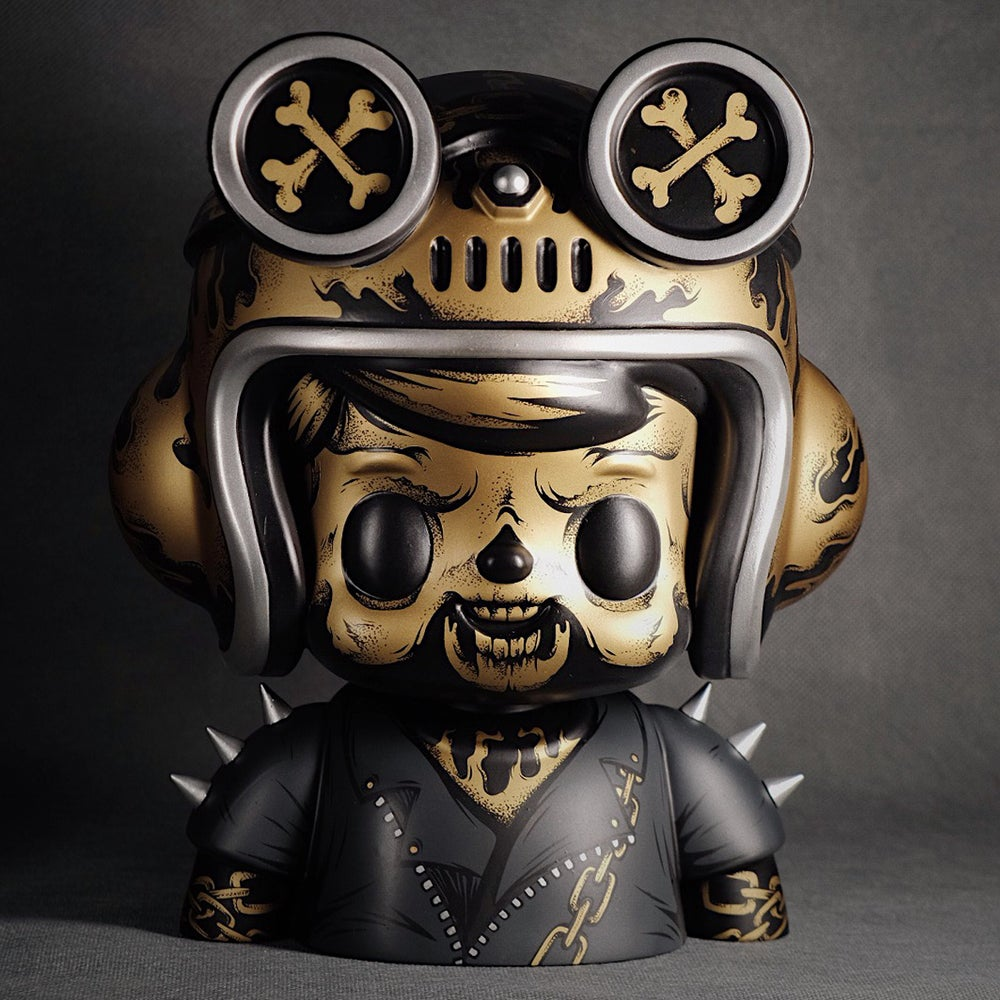 Image of Owangeboy Bust - Hell Raider Colorway