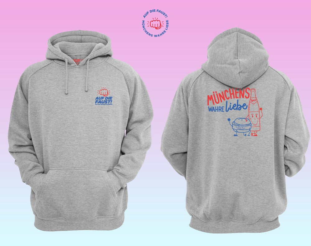Image of  MÜNCHENS WAHRE LIEBE - HOODIE - PREORDER
