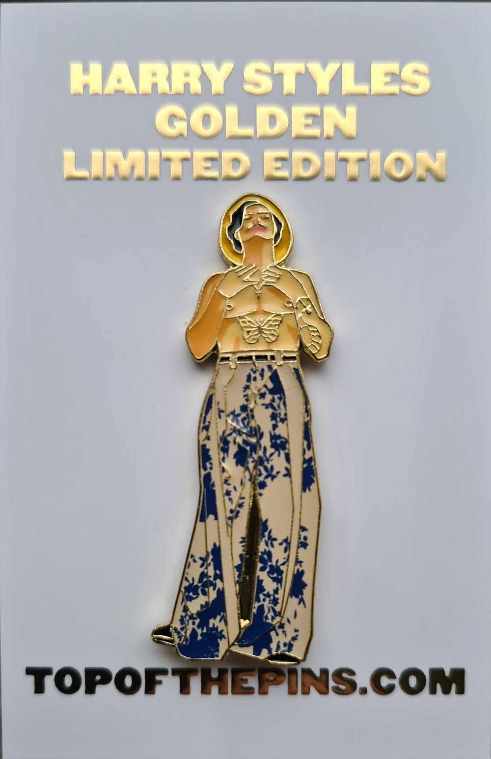 Harry Styles - Golden Limited Edition Pin Badge