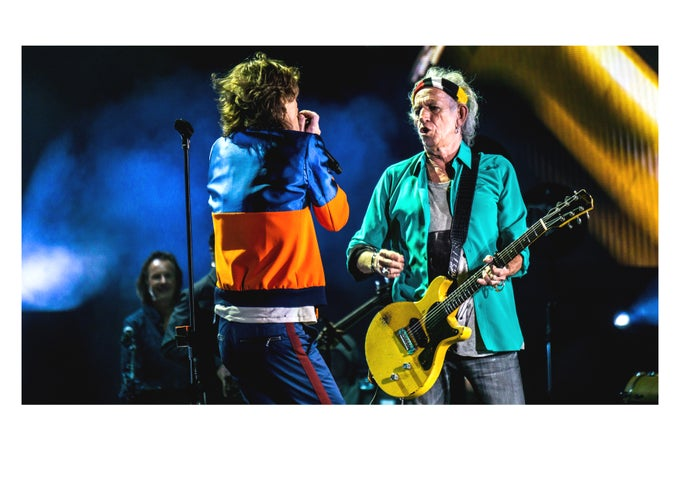 Image of Mick & Keef in Desert Trip