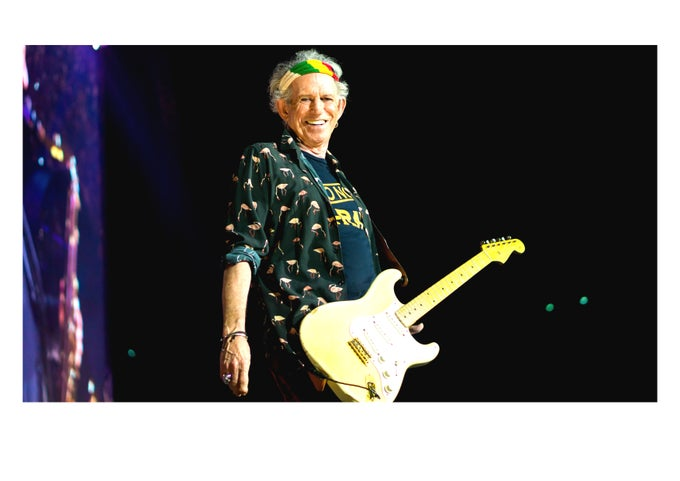 Image of Keef Smiling In Paris