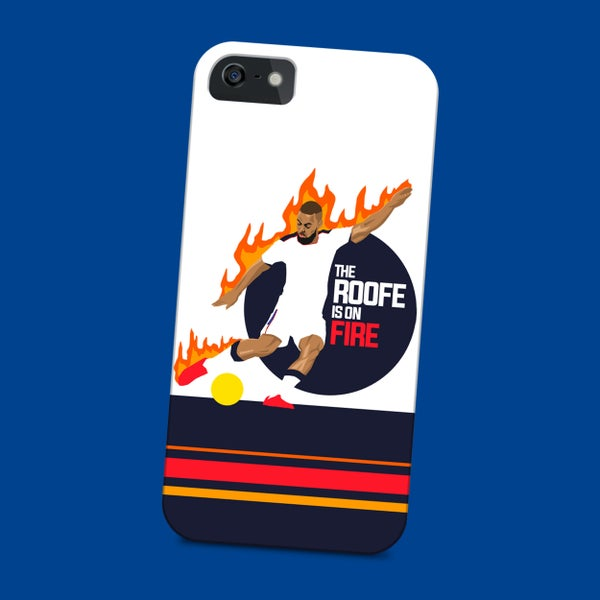 Image of The Roofe is on fire phone case
