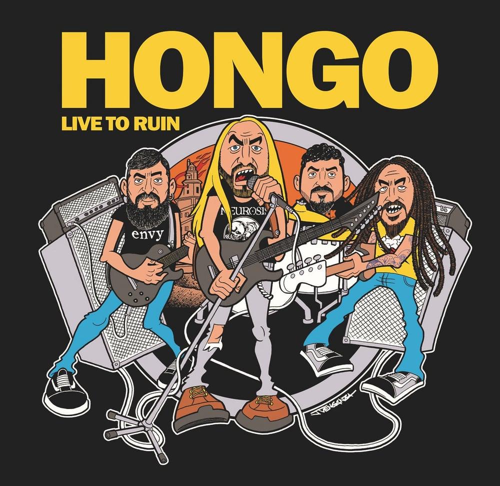 "Image of LADV147 - HONGO ""live to ruin"" LP"