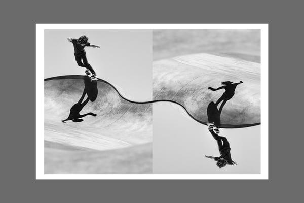 Image of SKATEBOARDING VS SURFING
