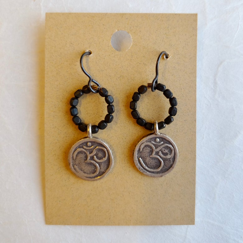 Image of OM earrings