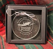 Image of Stars and Stripes Honor Flight Ornament