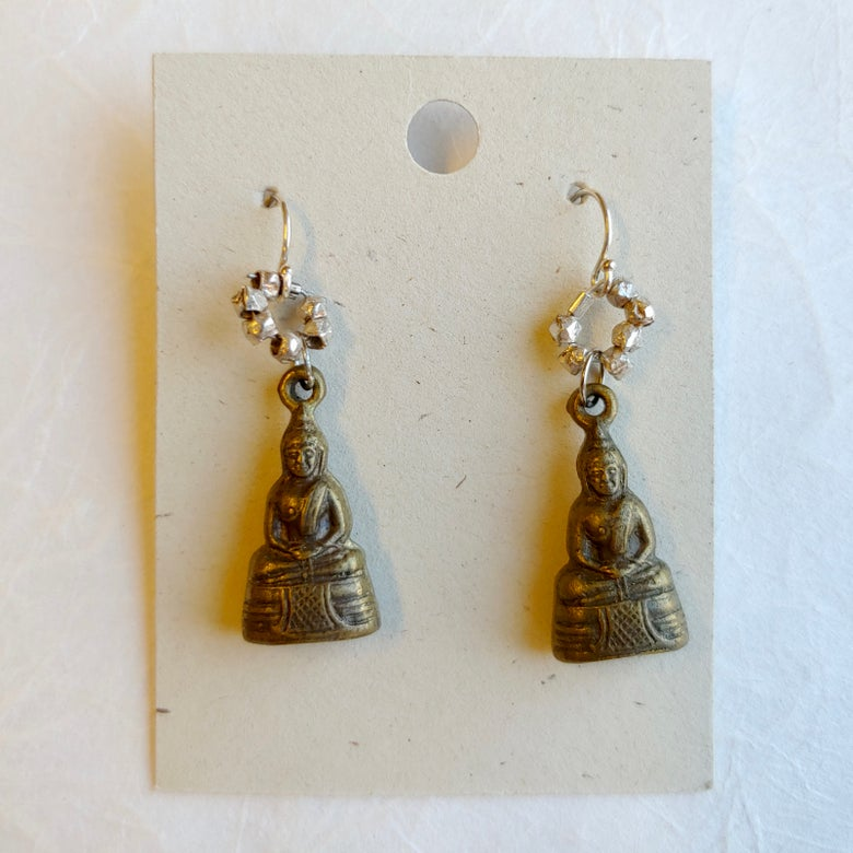 Image of Buddha earrings