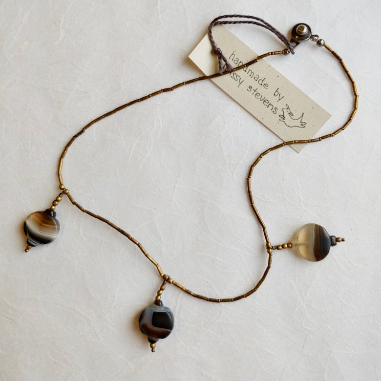 Image of Vintage Agate necklace
