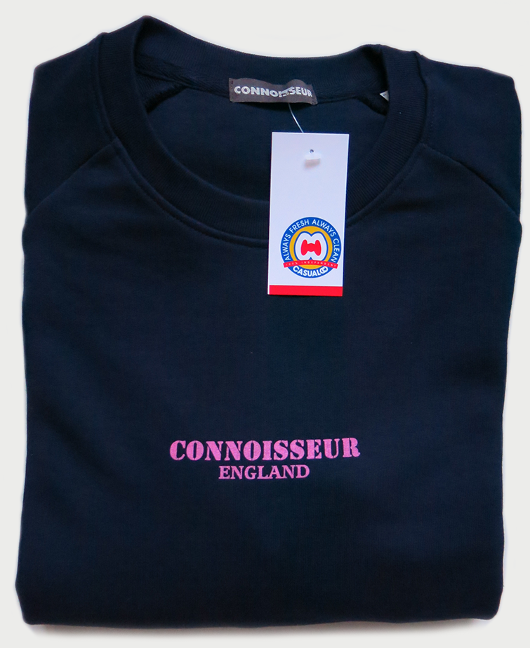 Image of 'CONNOISSEUR ENGLAND' SWEATSHIRT