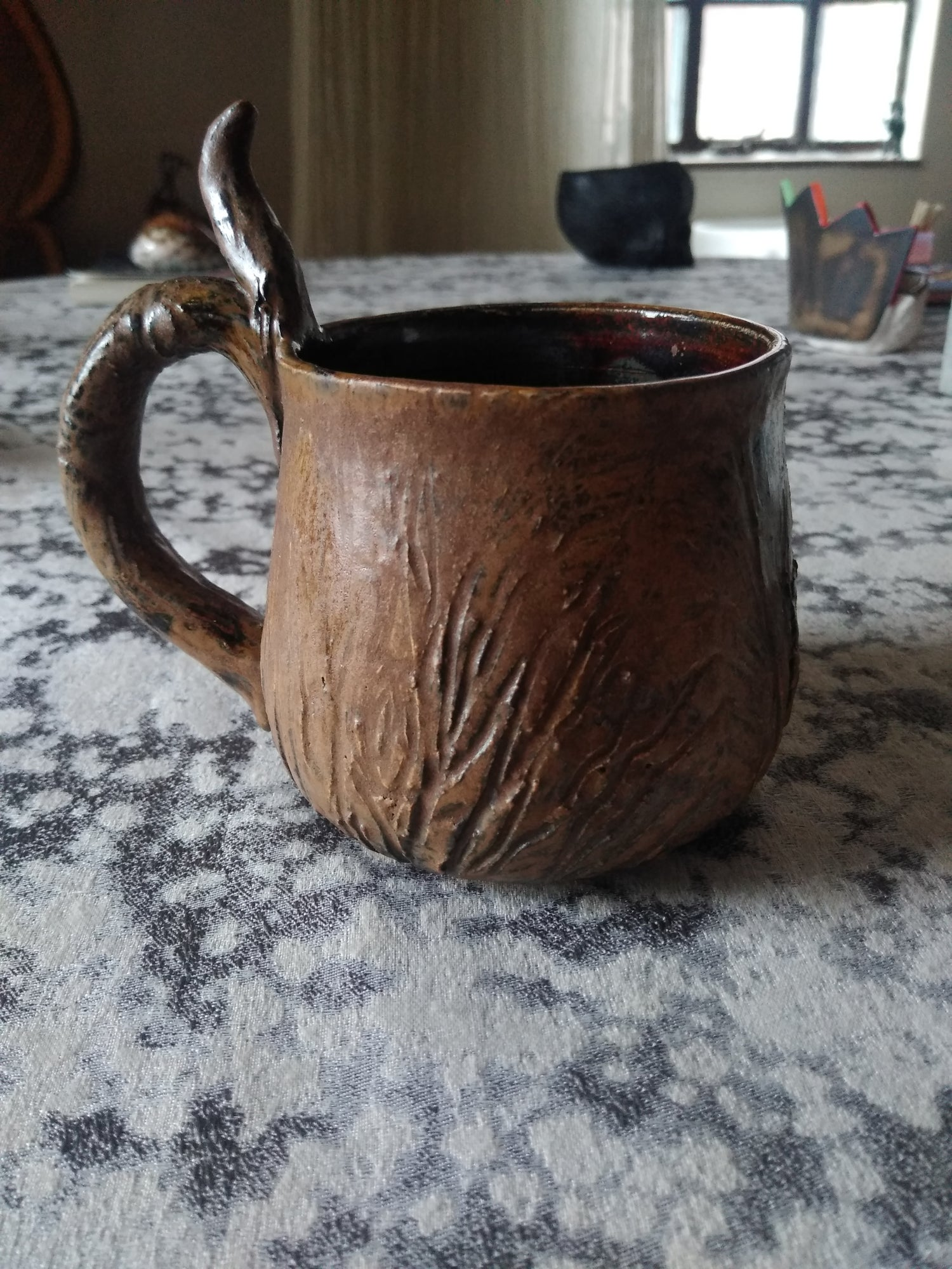 Image of Witch of the Woods Watching Tree Mug