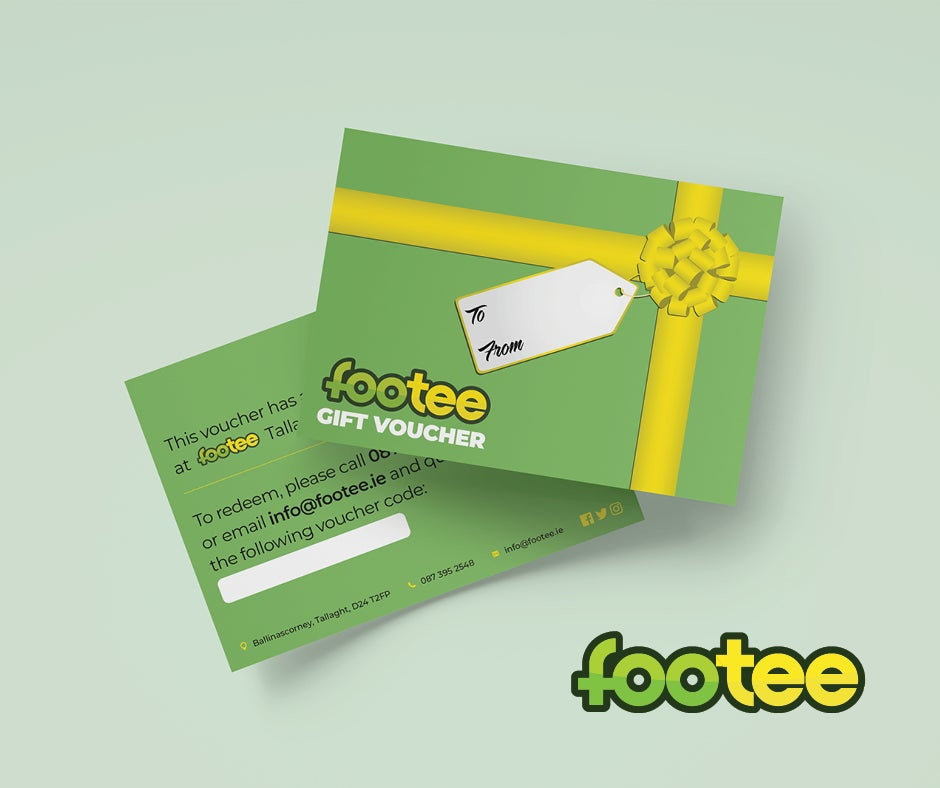 Image of €15 Footee Gift Voucher