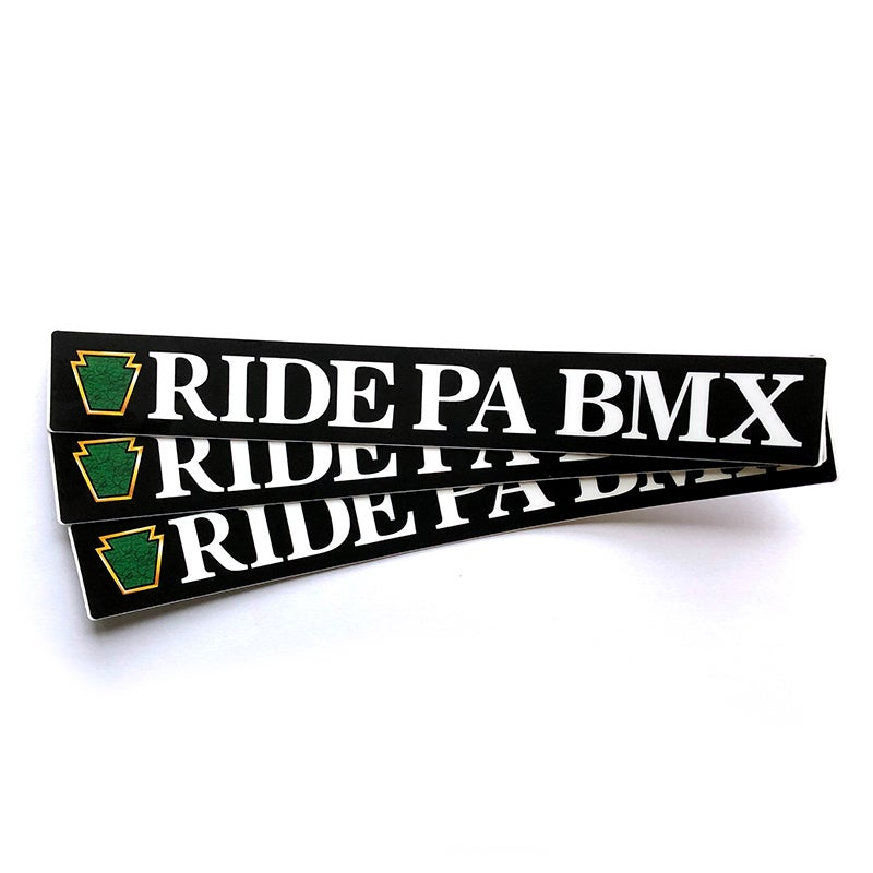 Image of RidePABMX Sticker 3 Pack