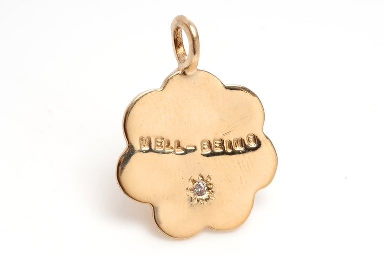 Image of Gold Cloud Charms (Well Being, Inner Peace, No Regrets)