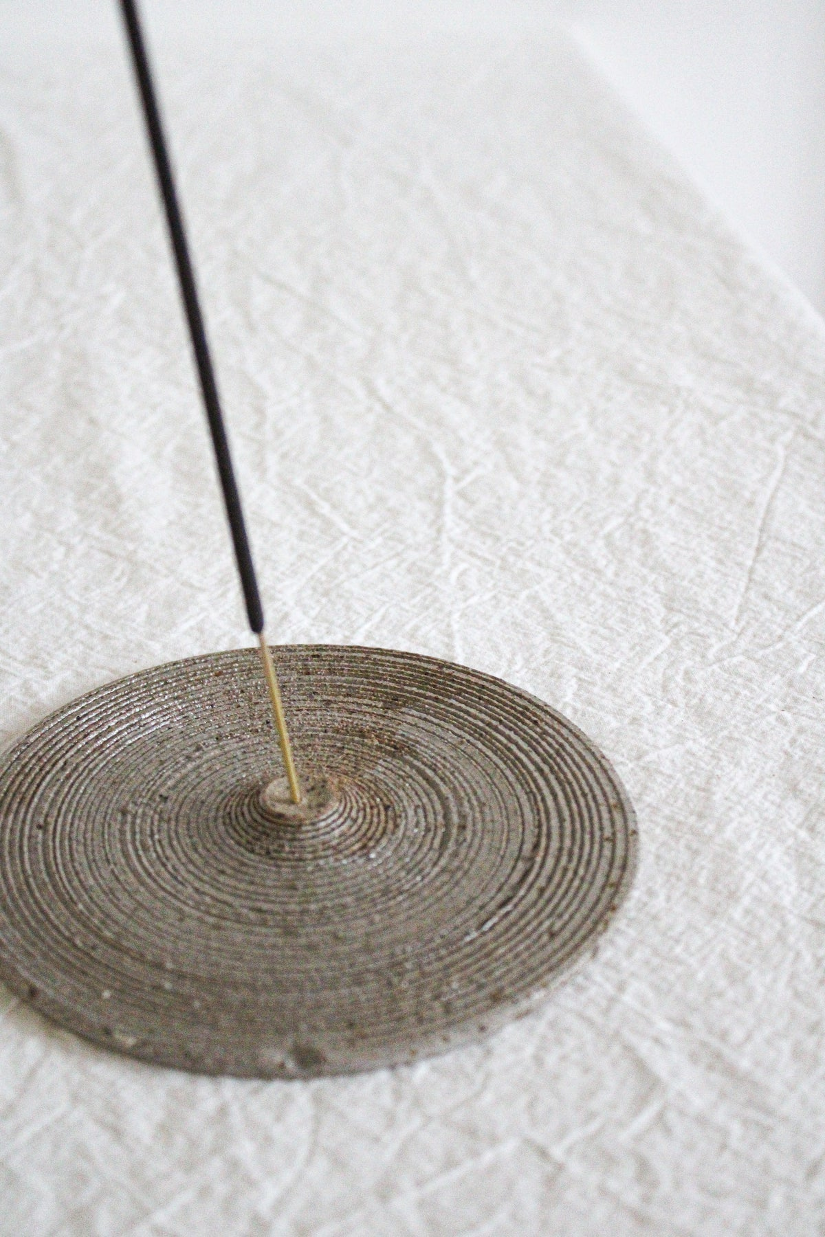 Image of textured incense holder