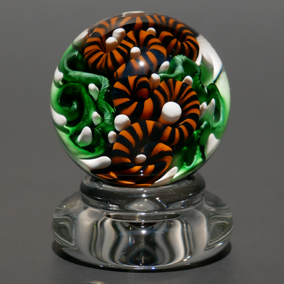 Image of 33mm Implosion Marble with Stand