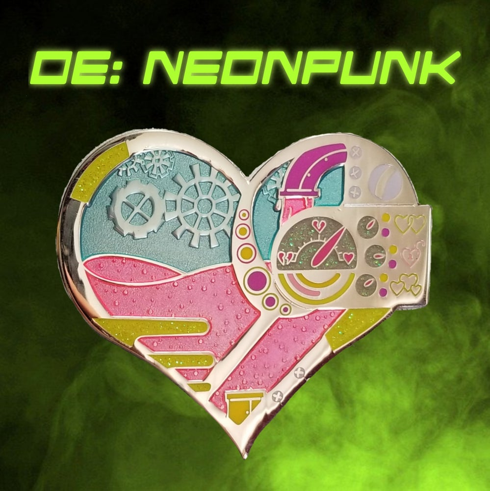 Image of Heart of a Chromaticpunk Pin Series