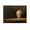 Orange Ginger Jar, Oil Painting by Cindi Yaklich