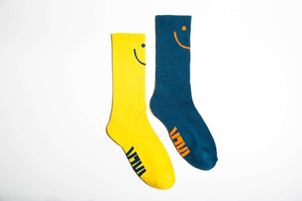 Image of Talk Socks Mis-Matched Pair
