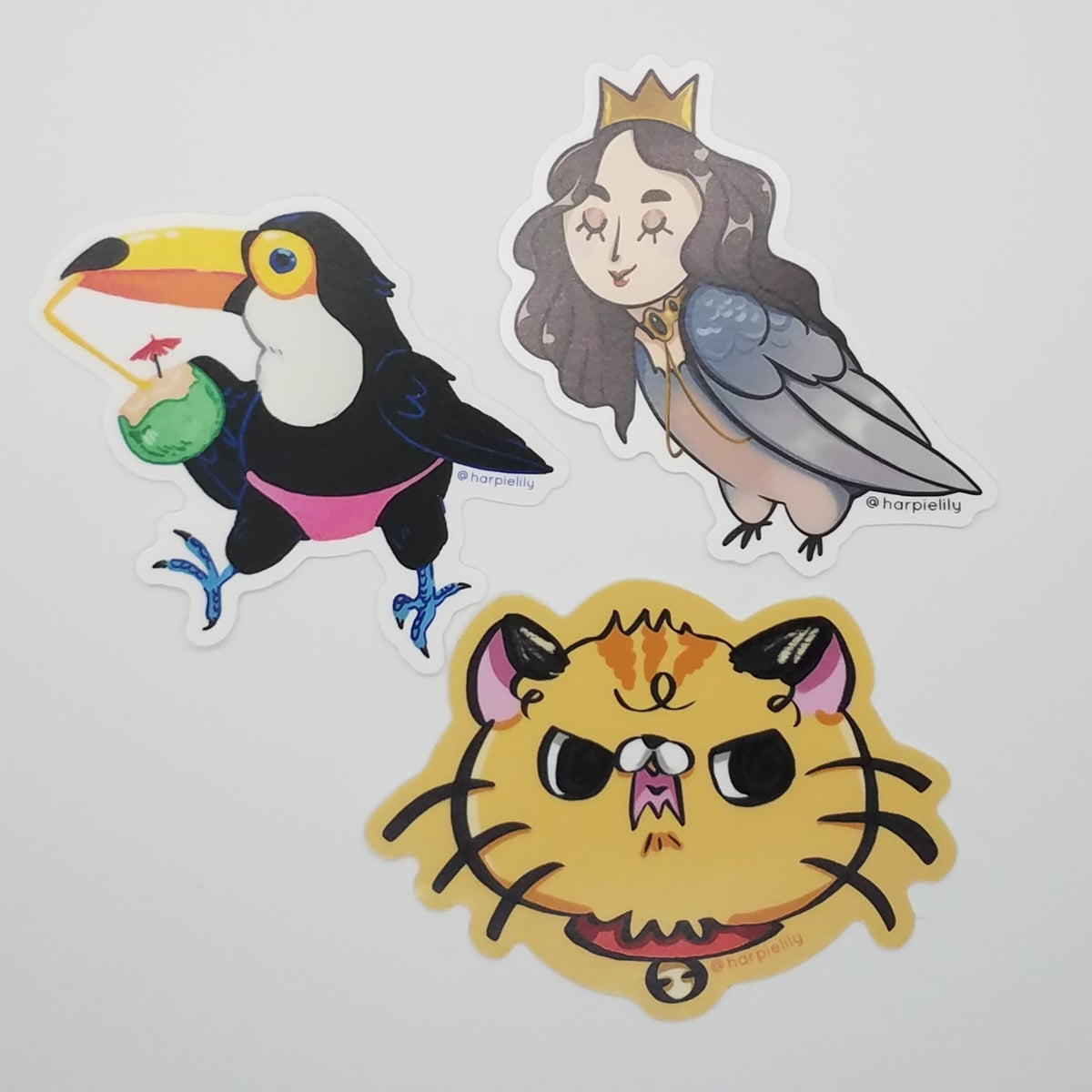 "Image of 3"" Vinyl stickers"