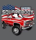 4X4 USA Flag Shirt