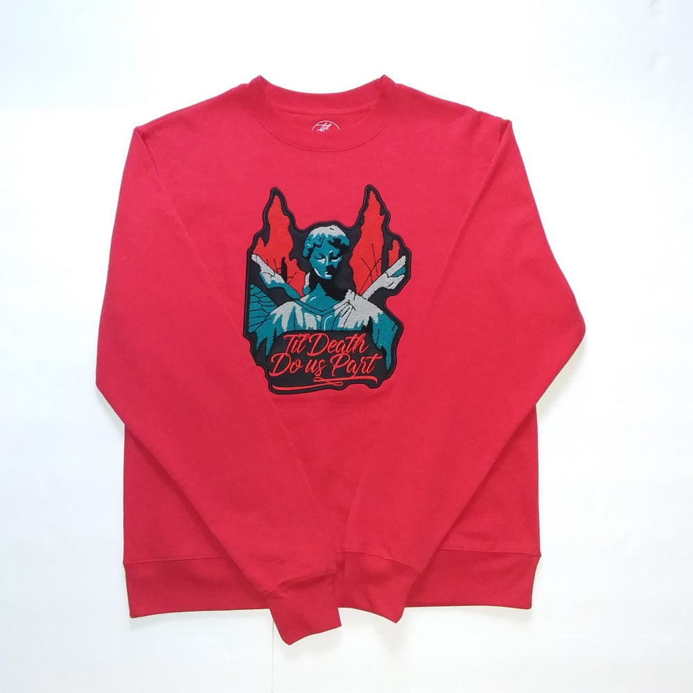 Image of Chenille Patch Crew Neck