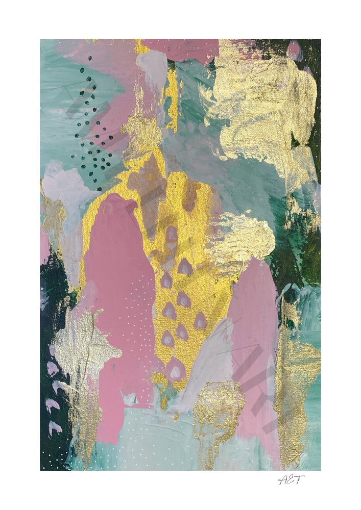 Image of Abstract 'Candy' Giclee Print