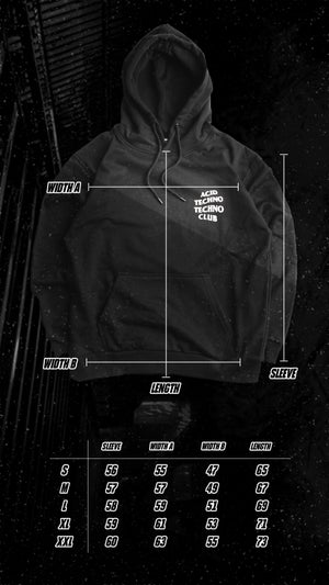 Image of Acid Techno Techno Club HOODIE