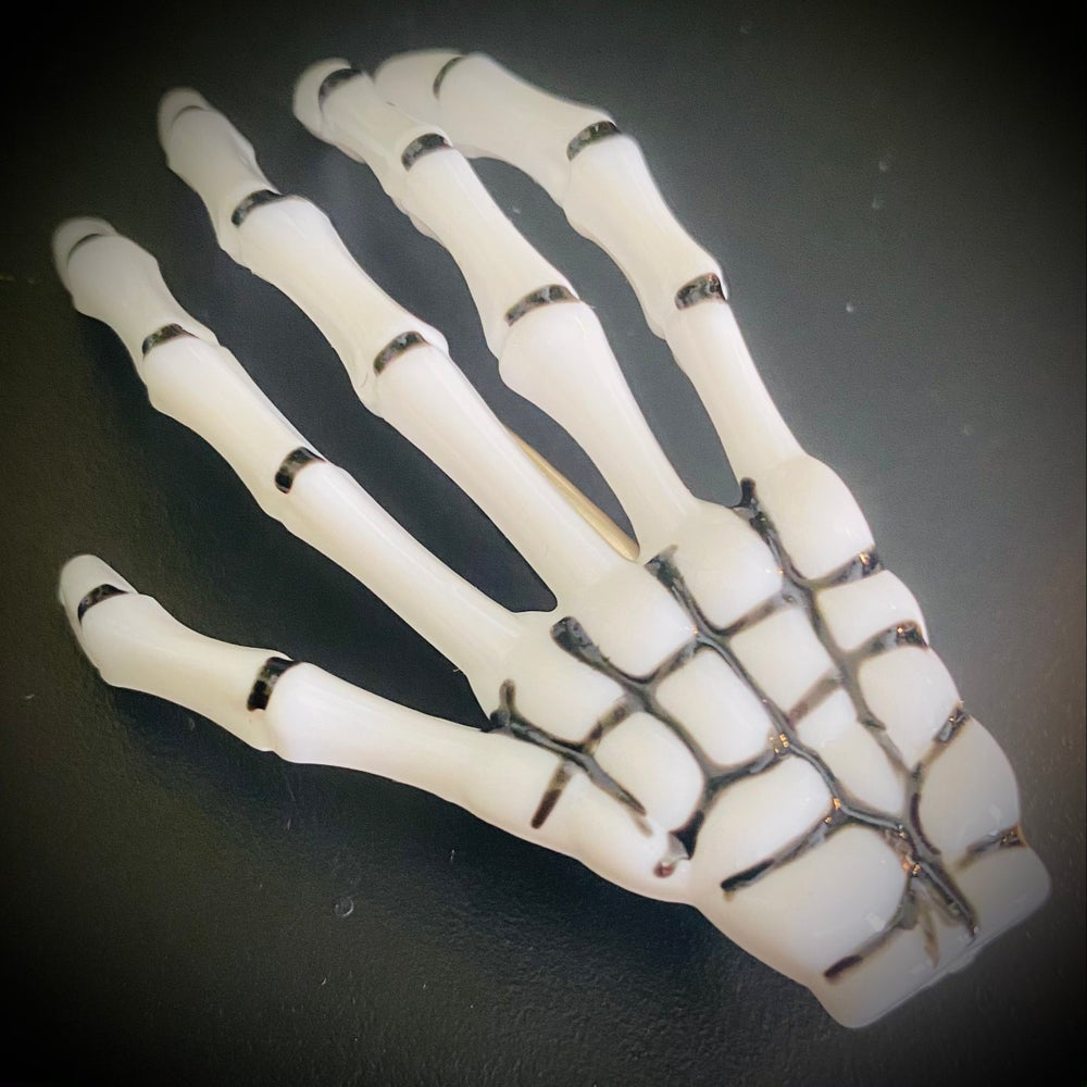 Skeleton Hand Hairclip