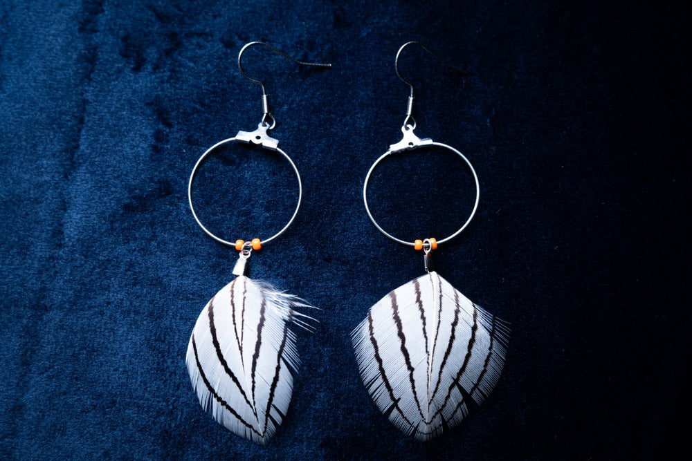 Image of Small Silver Pheasant Hoops