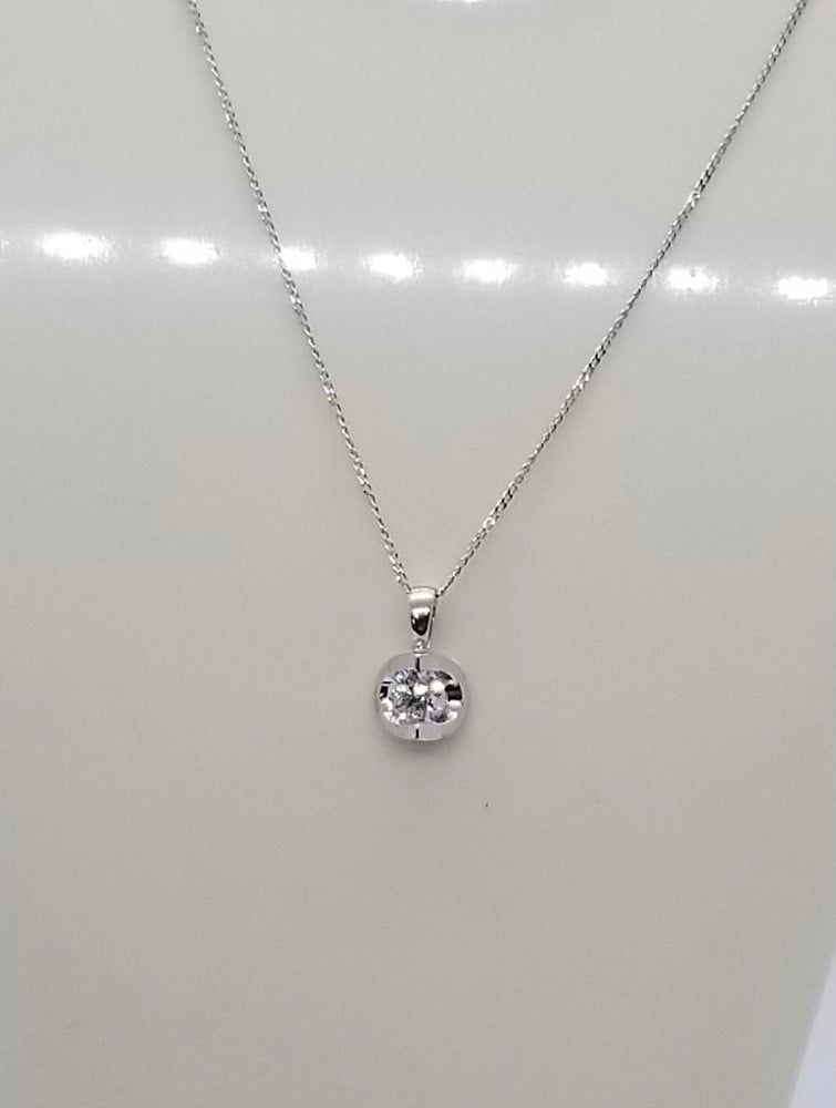 Image of White Gold Solitaire