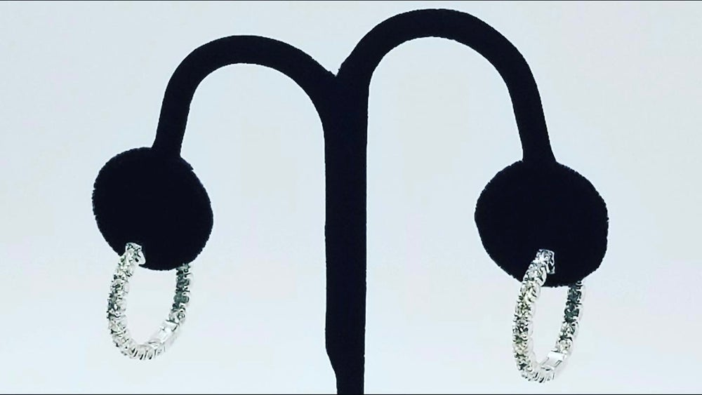 Image of Diamond Hoops