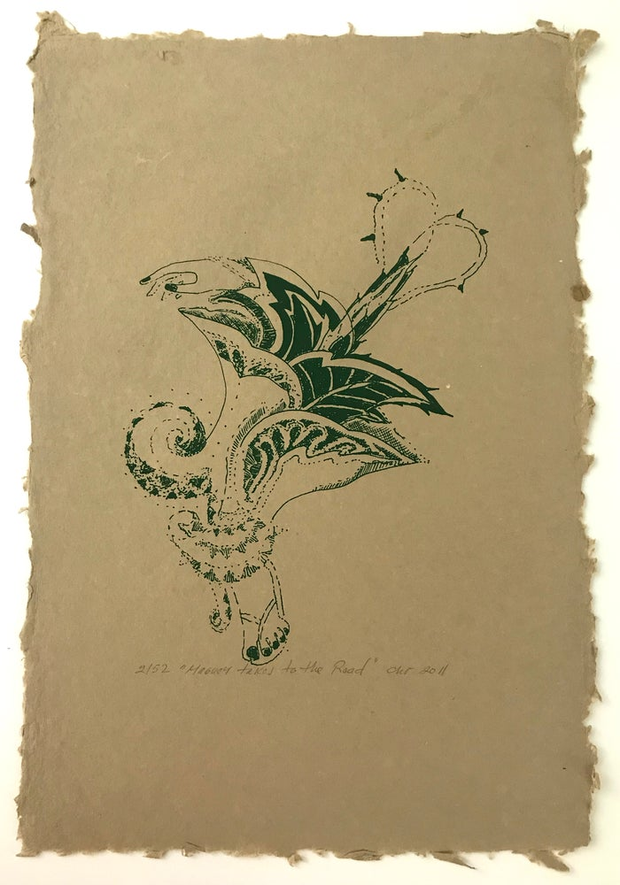 Image of Maguey Takes to the Road (Handmade Paper 2011)