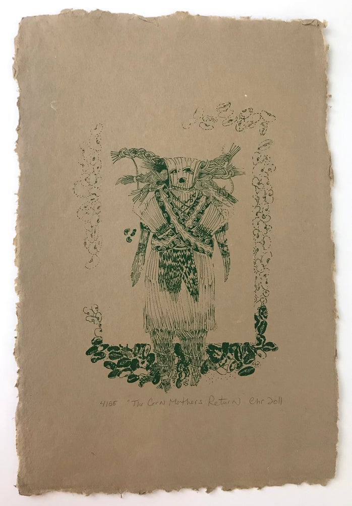 Image of The Corn Mothers Return (Handmade Paper, 2011)