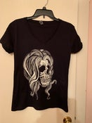Image of Marlena Skull V-Neck Women's T-Shirt