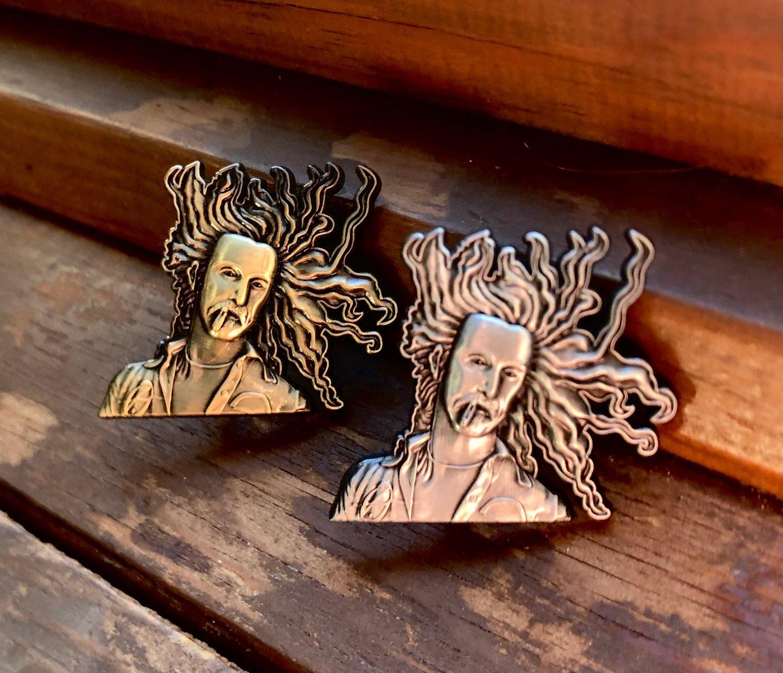 Image of Frank Zappa 3D pins
