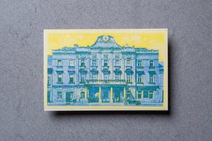 Trnavská radnica - Zberateľské riso-pohľadnice