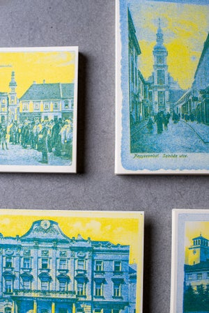 Divadelná ulička - Zberateľské riso-pohľadnice