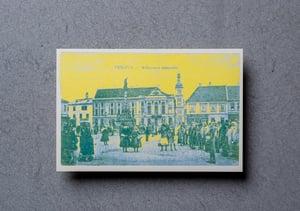 Život na Trojičnom námestí - Zberateľské riso-pohľadnice