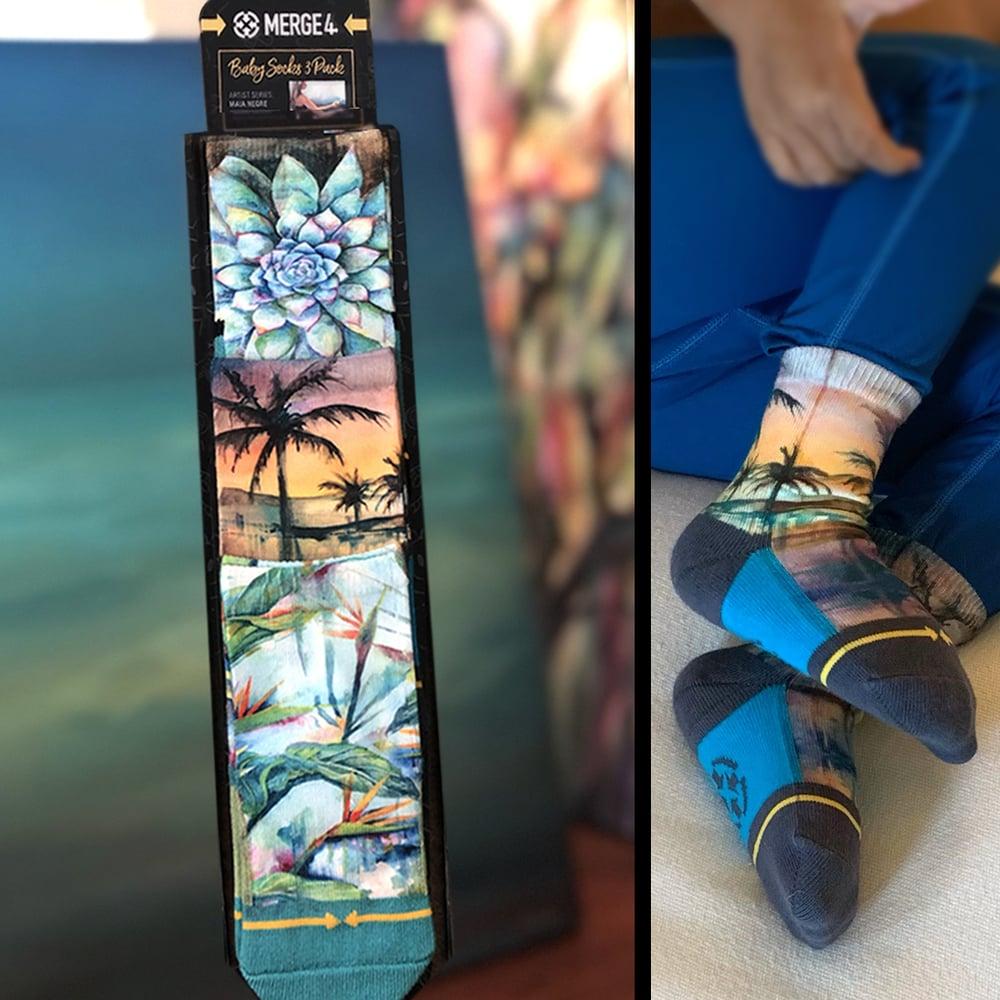 Image of Baby Socks 3-Pack, Merge4Socks