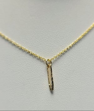 Image of tiny spike necklace