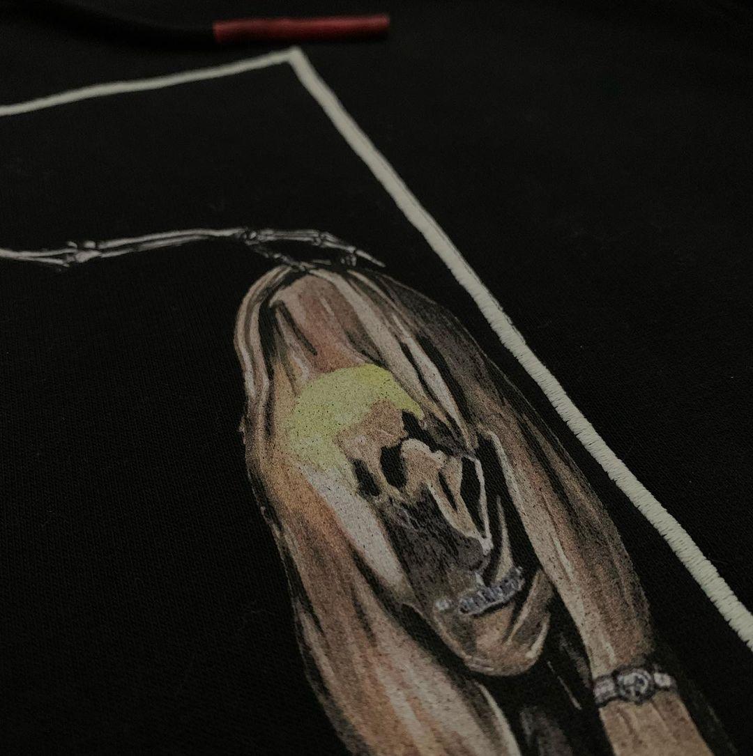 "Image of Skeleton - HEAT REACTIVE BOX LOGO ""ARTIST"" glow in the dark"