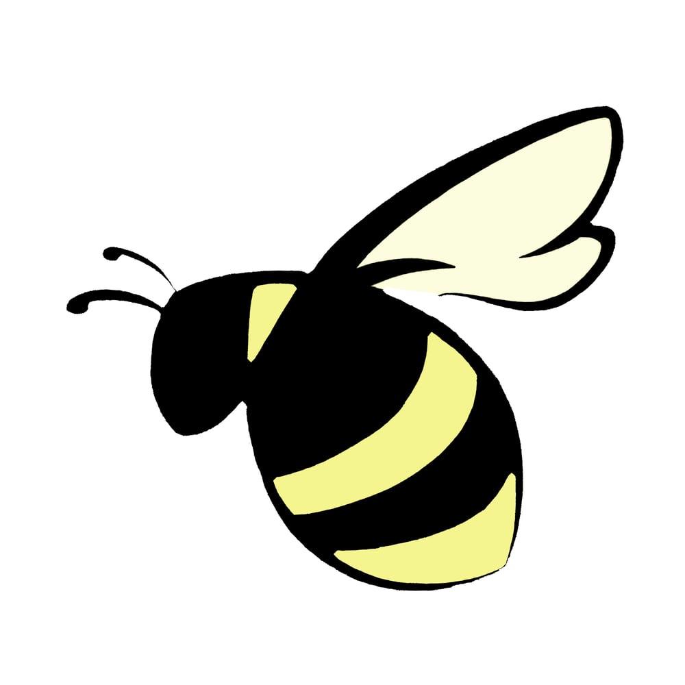 Bumblebee vinyl decal